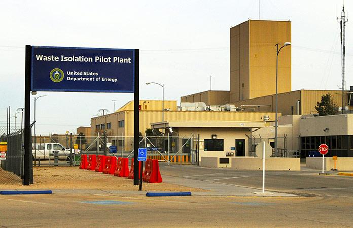 Planta de aislamiento de residuos en Nuevo México, EE.UU.