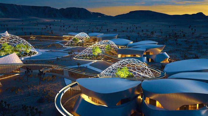 El desierto de Mojave tendrá una aldea sostenible inspirada en Marte