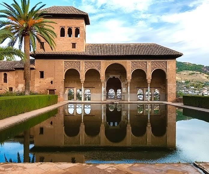 El Partal, en la ciudad de la Alhambra