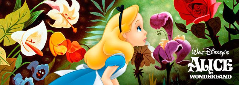 Ilustración de Alicia en el país de las maravillas de Disney