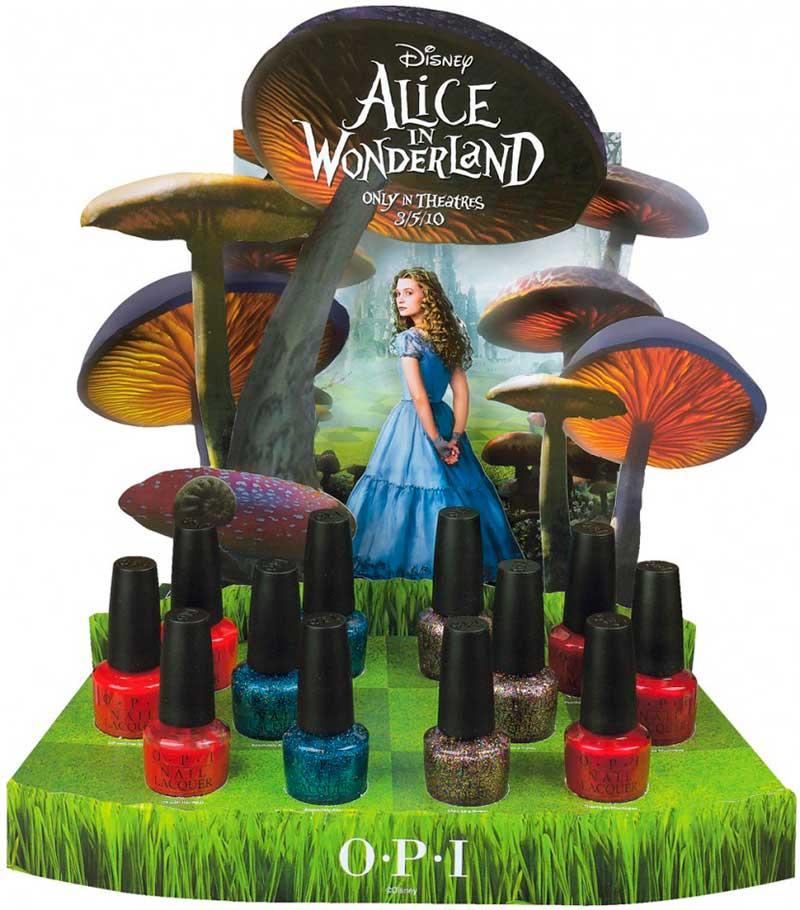 Esmalte de uñas de Alicia en el país de las maravillas