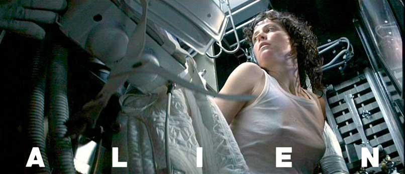 Foto promocional de la película Alien, el Octavo Pasajero