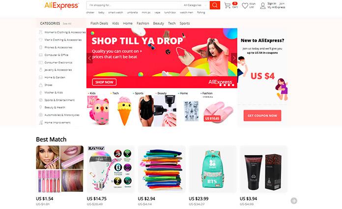 a922a1f5 Las 30 mejores tiendas chinas online | Cinco Noticias