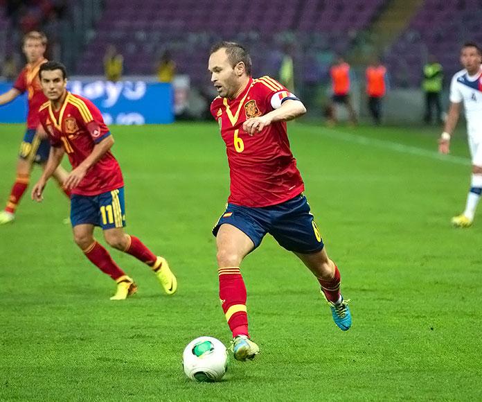 Andrés Iniesta · España-Chile 2013