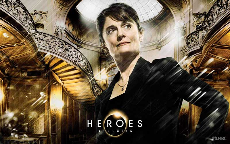 Angela Petrelli de Héroes
