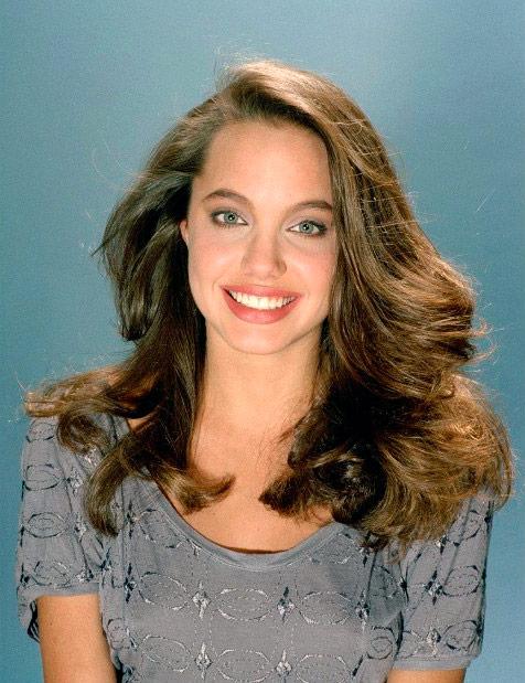 Angelina Jolie antes