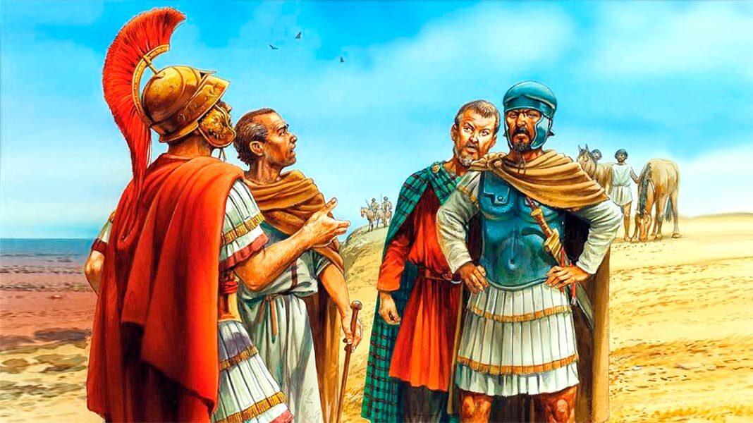 Aníbal y Escipión: diálogo de dos enemigos
