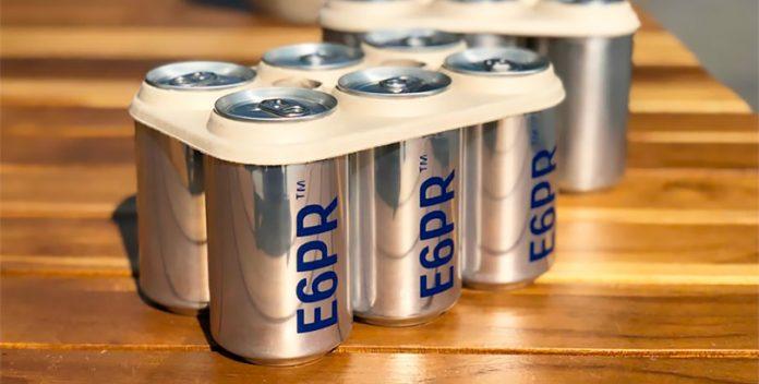 Nuevos anillos biodegradables para packs de latas.