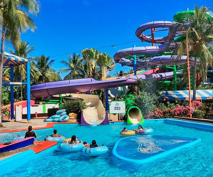 Parque acuático Aquaventuras en México