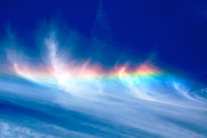 arco iris de fuego