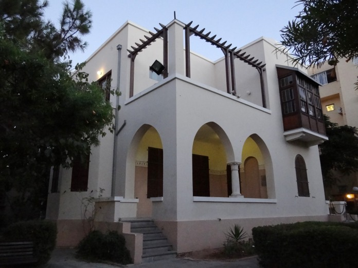 Arquitectura Bauhaus: Bialik House, Tel Aviv.