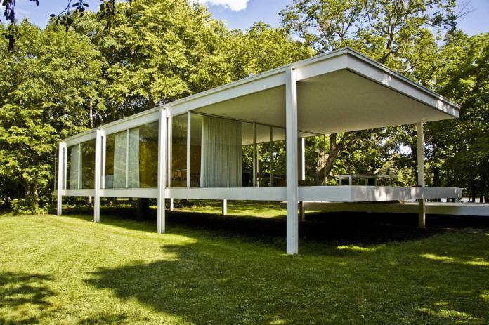 Arquitectura Bauhaus: Casa Farnsworth en Chicago