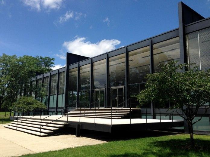 Arquitectura Bauhaus: Crown Hall en Chicago.