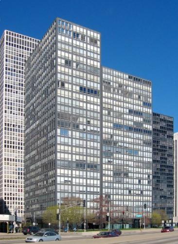 Arquitectura Bauhaus: Lake Shore Drive, Chicago.