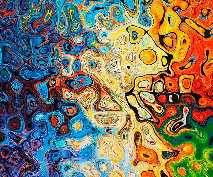 textura de arte abstracto