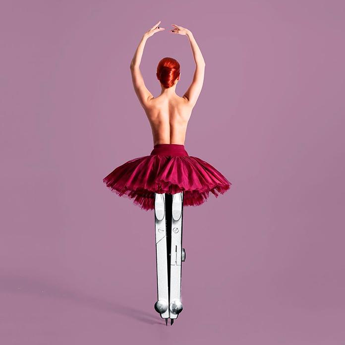 Bailarina geométrica (Les Creatonautes)