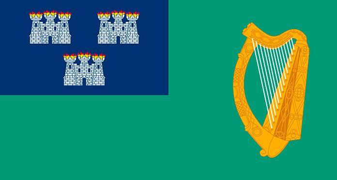 Bandera de Dublín.
