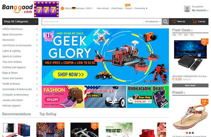 Web de Banggood