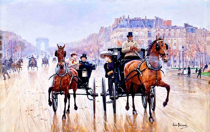 Jean Béraud, la vida en París en el siglo XIX