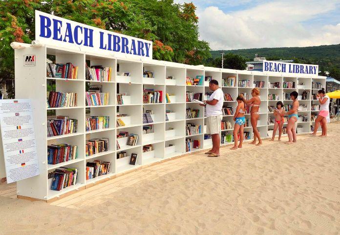 Biblioplaya de Albena, Bulgaria