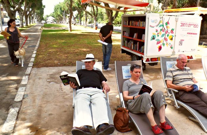 biblioteca movil Israel