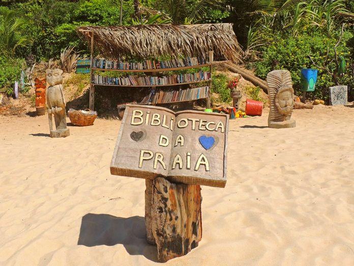 Biblioteca de Praia Pipa, Brasil