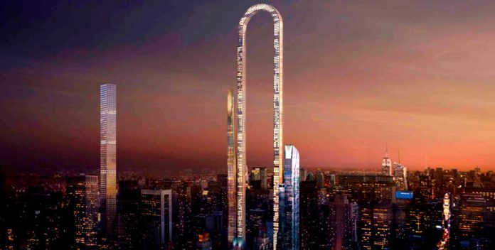 El Big Bend será el rascacielos más largo del mundo