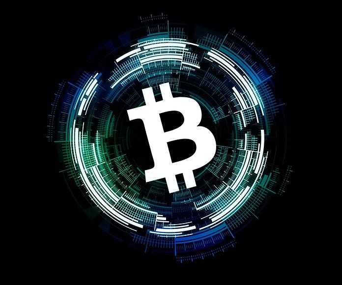 símbolo de Blockchain