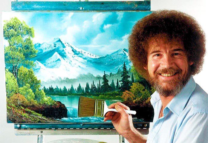 Bob Ross, el maestro de los errores felices