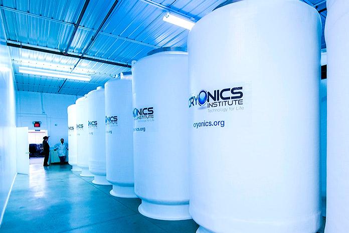 Cámaras de crionización del Cryonics Institute