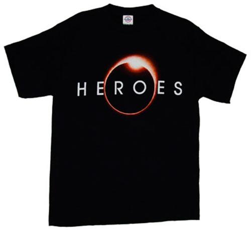 Camiseta con el logo de la serie Héroes