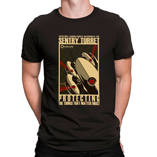 Camisetas videojuego Portal