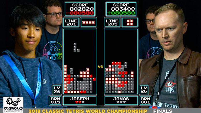 Campeonato mundial de Tetris 2018