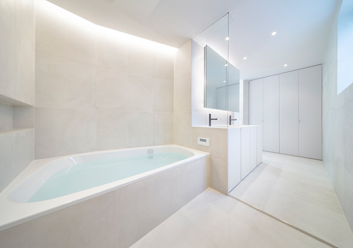 Cuarto de baño minimalista