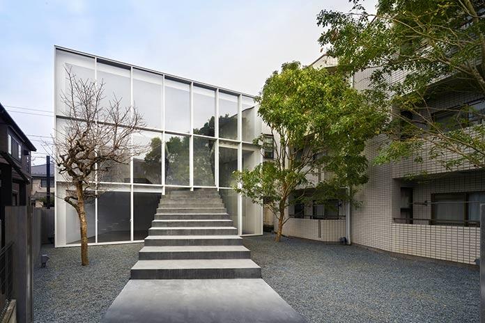 Casa de la escalera - Fachada