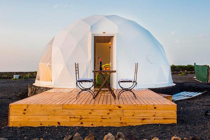 Alojamiento Eco Dome Experience. Teguise, Lanzarote