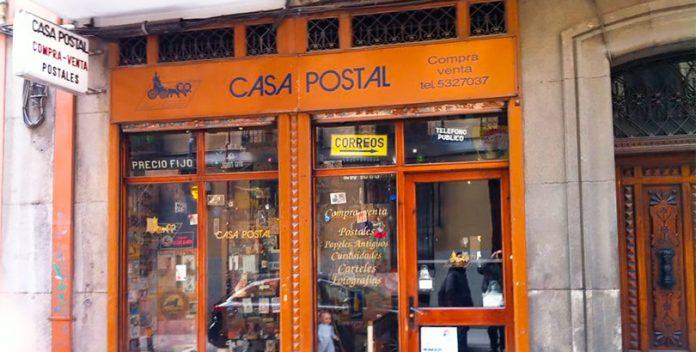 La Casa Postal de Madrid guarda más de un millón de tarjetas postales.