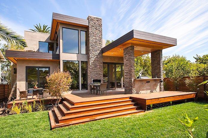 Casa ecológica de hormigón