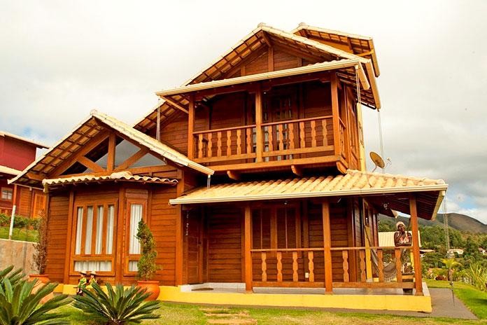 Casa ecológica de madera