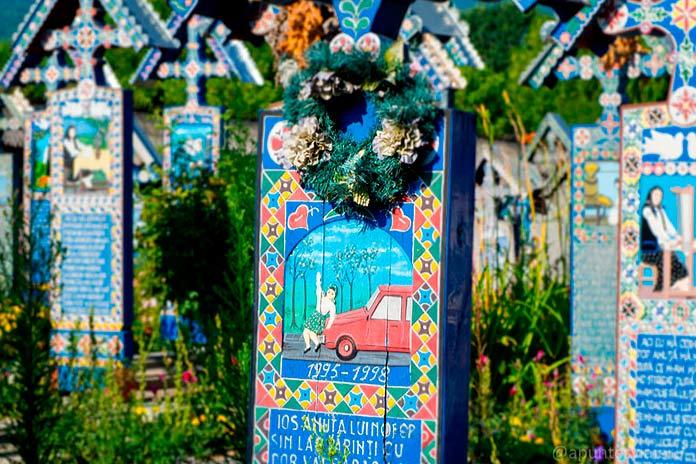 Cementerio alegre de Sapanta 1