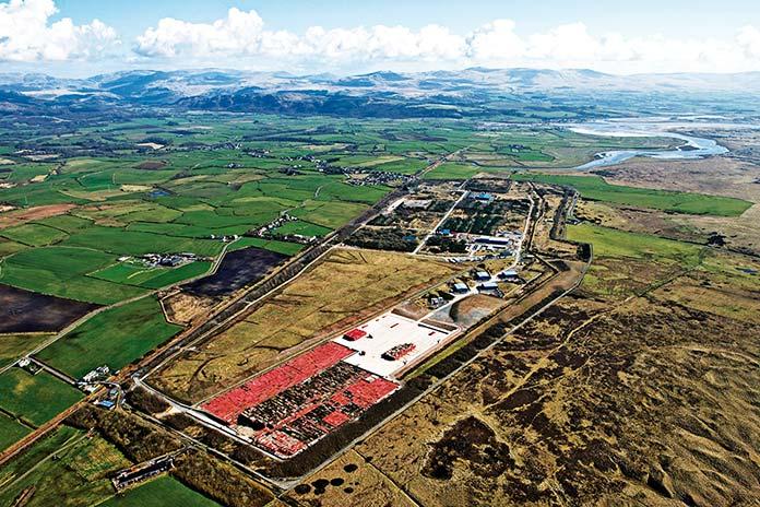 Cementerio nuclear Drigg Low Level Waste Repository en Cumbria, Reino Unido