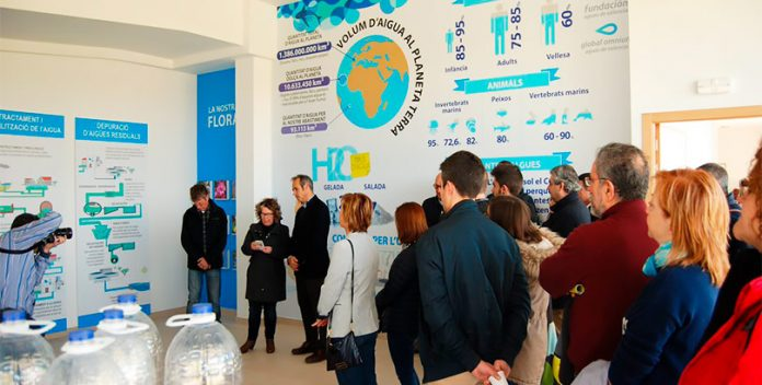 La exposición Fets d'Aigua inaugura el Centro de Interpretación de la Naturaleza.