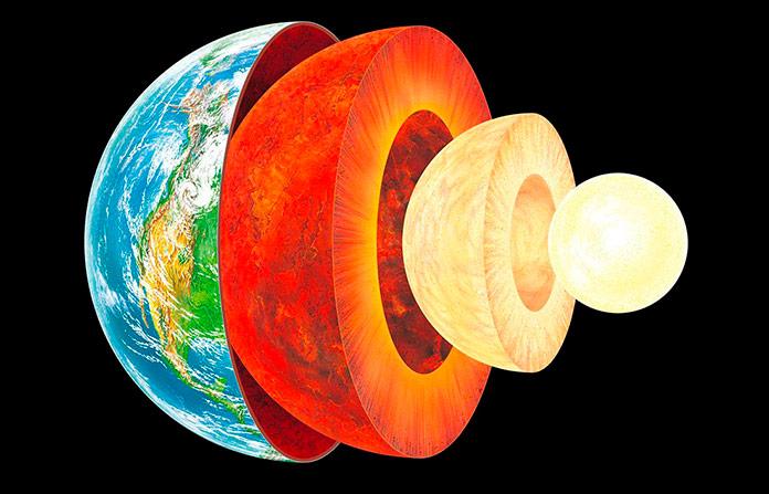 Qué hay en el centro de la Tierra según la ciencia