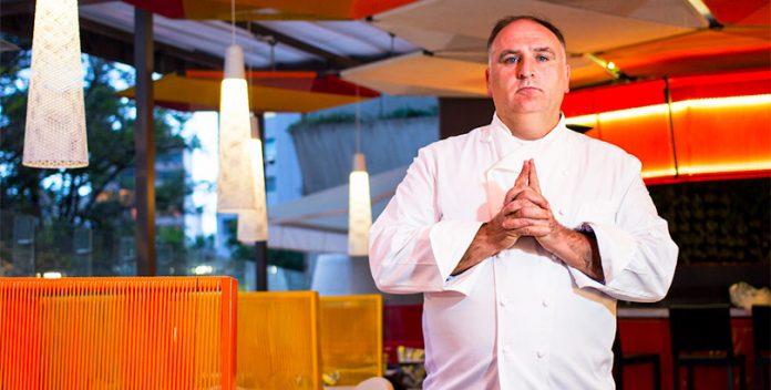 El chef José Andrés galardonado como Persona Humanitaria del Año.