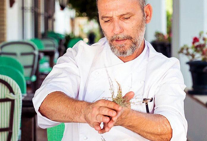 chef del Hotel La Malvasía