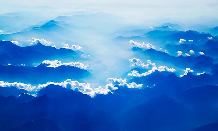 Cielo pleno de nubes