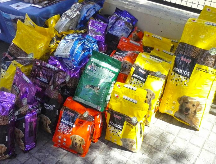 Bolsas de comida para perros