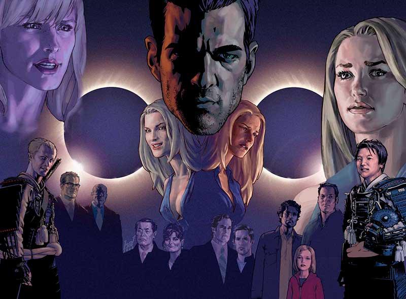 El cómic de Héroes de la NBC