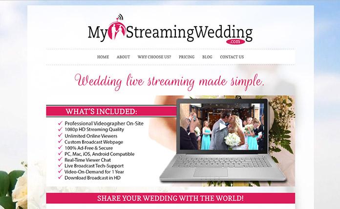 Cómo casarse por internet en My Streaming Weeding