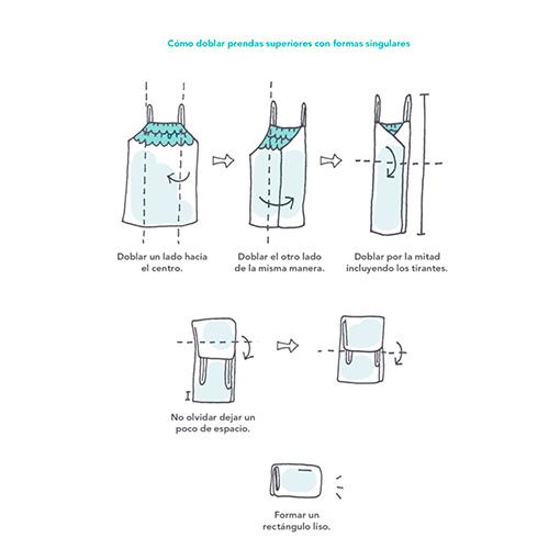 Cómo doblar prendas inferiores con formas singulares